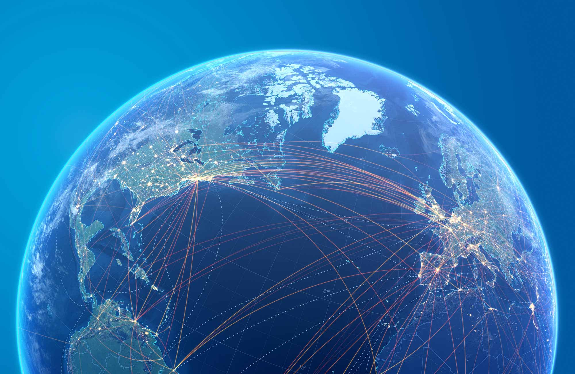Contact Us globe