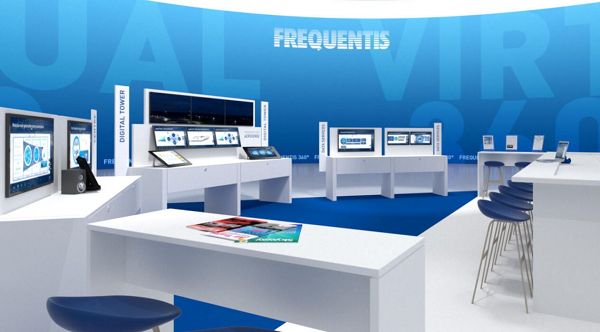 Preview virtual Frequentis Sky Studio