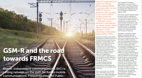 GMS-R und the road towards FRMCS